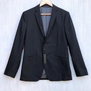 NWT Theory Rodolf Belville black trim blazer 38